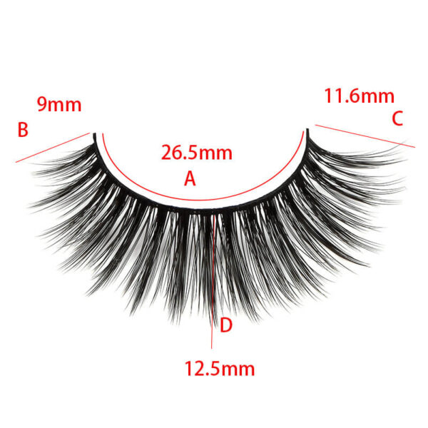 25mm lashes s7q size show