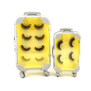 25mm lashes s7q wholesale in yellow package