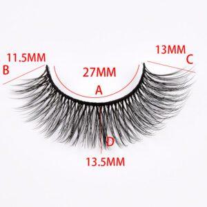 27mm mink lashes with size bulk wholesale