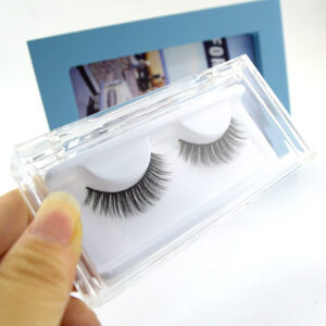 Mink Cluster Lashes S5Q in clear Case 2
