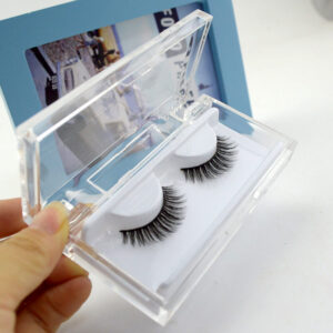 Mink Cluster Lashes S5Q in clear Case
