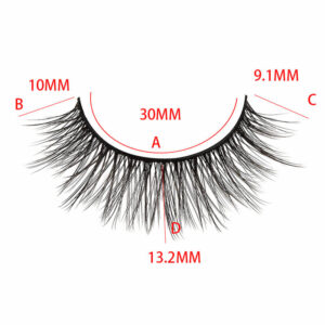 Mink Lashes wholesale bulk in S15Q model with size