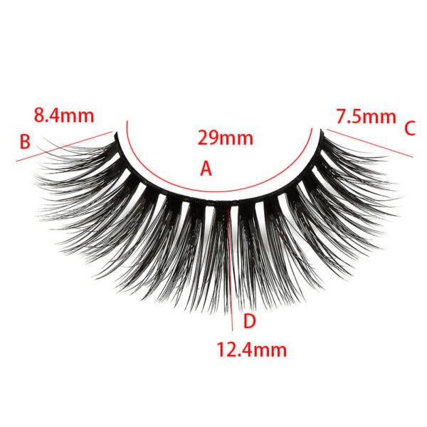 Wispy Mink Lashes S26Q With Size show