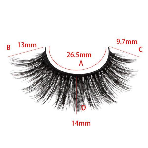 eyelash vendor wholesale S36q model size show