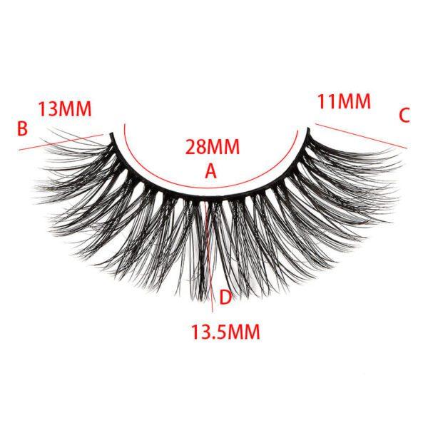 faux mink lash vendors wholesales S37Q mink lashes size show