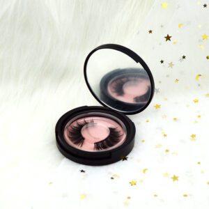 fox eye eyelashes s808q with black lashes case package