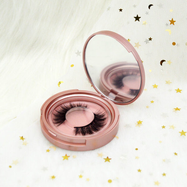 fox eye eyelashes s808q with rose gold lashes case package