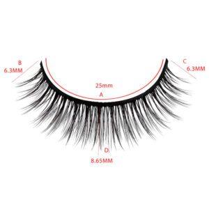 individual eyelash wholesale s30q mink lashes size guider