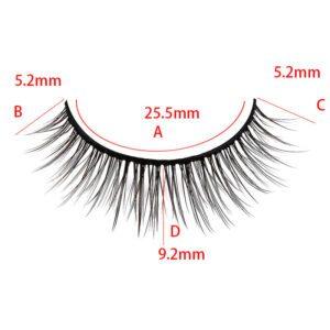 mink eyelash S22Q size show