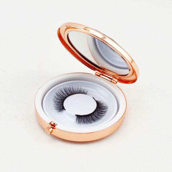 mink lash strips s18q in gold lash case detail bulk wholesale