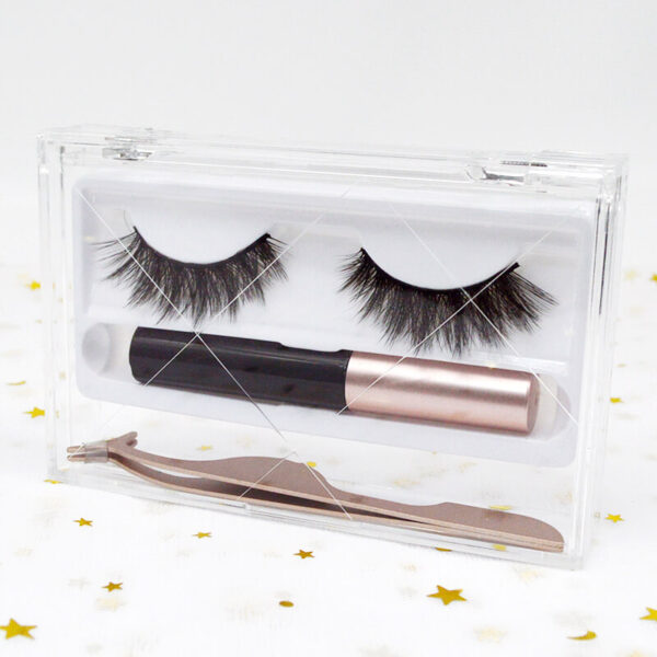 wholesale mink lashes and packaging s48q kit with leashes package box