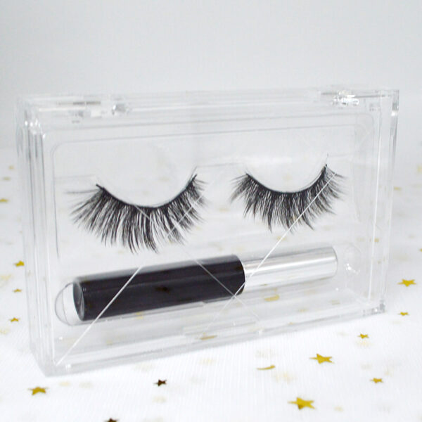 wholesale mink lashes and packaging s48q with leash package tray