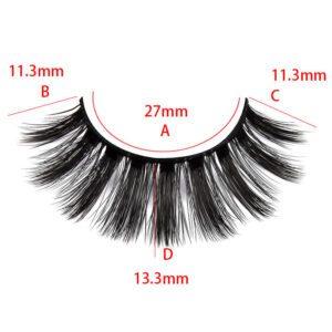 wispy eyelash supplier bulk wholesale s804 eyelash show size