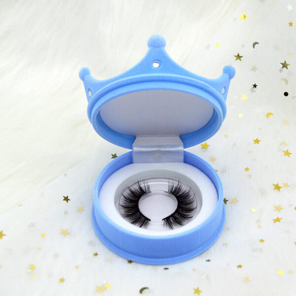 wispy eyelash supplier bulk wholesale s804 eyelash with blue lashes case