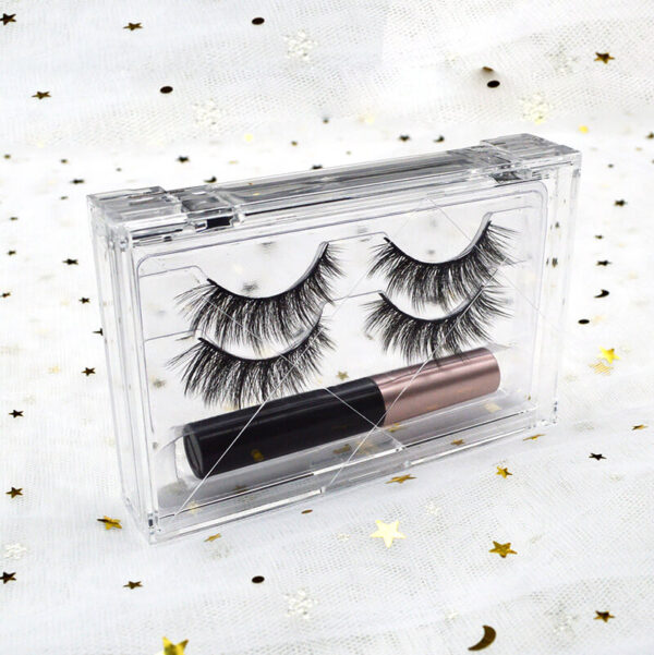 wispy volume lashes s801q with eyelashes package detail